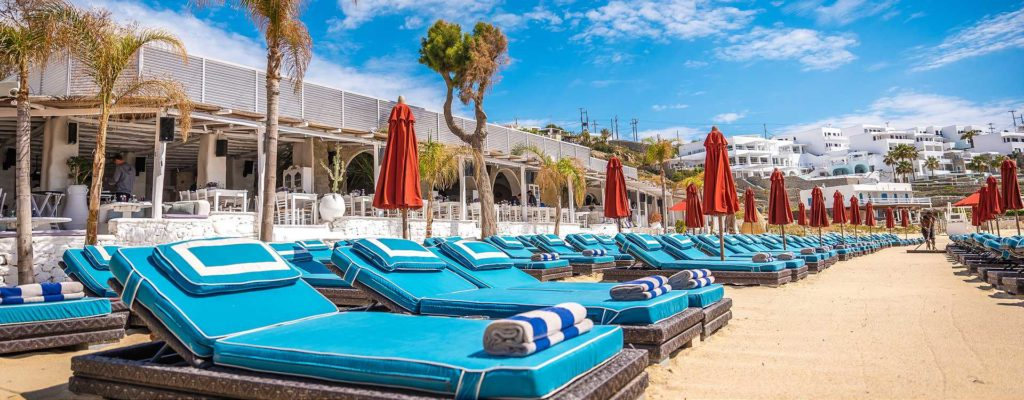 nammos beach bar mykonos psarou beach