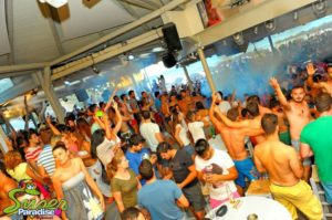 super paradise mykonos beach bar