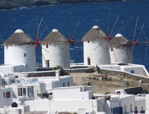 A brief history of the whitewashed wind mills of Mykonos