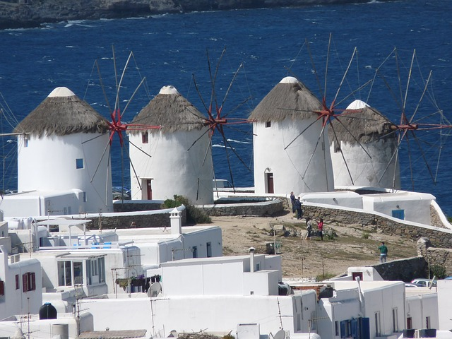 windmills-in-greece