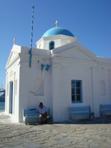 church-in mykonos